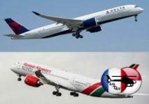 Delta Air Lines et Kenya Airways partagent leurs codes
